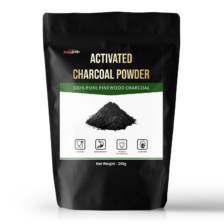 Healthgenie Activated Charcoal Powder Pinewood Based-250 Gm