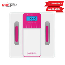 Healthgenie Digital Personal Body Fat Analyzer(HB-301)-Pink
