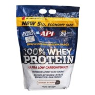 API 100% Whey Protein-Cookies & Cream-5 lb