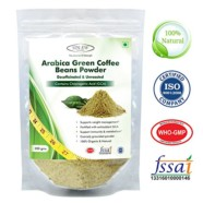 Sinew Nutrition Arabica Green Coffee Beans Powder 200gm, Decaffeinated & Unroasted Arabica Coffee for Weight Management