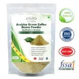 Sinew Nutrition Arabica Green Coffee Beans Powder 200gm, Decaffeinated & Unroasted Arabica Coffee for Weight Management