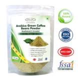 Sinew Nutrition Arabica Green Coffee Beans Powder 350gm, Decaffeinated & Unroasted Arabica Coffee for weight management