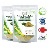 Sinew Nutrition Green Coffee Beans Powder 350gm (Pack of 2), Decaffeinated & Unroasted Arabica Coffee for Weight Management