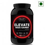 Sinew Nutrition Elevate Mass Gainer 1 Kg / 2.2 Lbs, Kesar Badam Pista Flavor