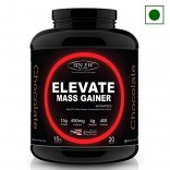 Sinew Nutrition Elevate Mass Gainer 2 Kg / 4.4 Lbs, Chocolate Flavor