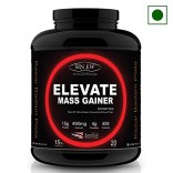 Sinew Nutrition Elevate Mass Gainer 2 Kg / 4.4 Lbs, Kesar Badam Pista Flavor