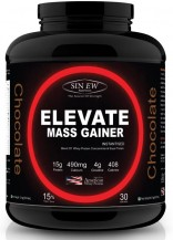 Sinew Nutrition Elevate Mass Gainer 3 Kg / 6.6 Lbs, Chocolate Flavor