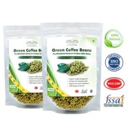 Sinew Nutrition Green Coffee Beans 800gm (Pack of 2) Decaffeinated & Unroasted Arabica Coffee for weight management