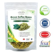 Sinew Nutrition Green Coffee Beans 200gm Decaffeinated & Unroasted Arabica Coffee for weight management