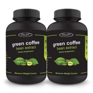 Sinew Nutrition Green Coffee Beans Extract 90 Caps 700mg (Pack of 2), 100 % Veg & Natural Weight Management & Appetite Suppressant Supplement