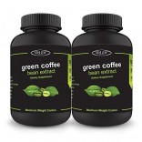 Sinew Nutrition Green Coffee Beans Extract 60 Caps 700mg (Pack of 2), 100 % Veg & Natural Weight Management & Appetite Suppressant Supplement