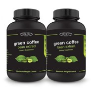 Sinew Nutrition Green Coffee Beans Extract 700mg (60 Pure Veg Capsules) Pack of 2, 100 % Pure & Natural Weight Management & Appetite Suppressant Supplement