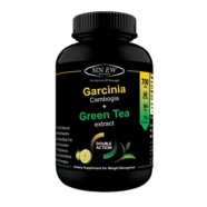 Sinew Nutrition Green Tea and Garcinia Cambogia Extract 700 mg (60 Pure Veg) Capsules, 100 % Pure & Natural Weight Management & Appetite Suppressant Supplement