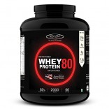 Sinew Nutrition Instantised Whey Protein Concentrate 80% Raw & Unflavoured 3 Kg (100 Servings) Supplement Powder