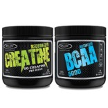 Sinew Nutrition Micronised Creatine Monohydrate – 300g and Instantized BCAA 2:1:1, 200gm