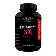 Sinew Nutrition Natural Fat Burner 3X (Green Tea, Green Coffee & Garcinia Cambogia Extract) – 700 mg (60 Veg Capsules)