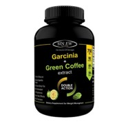Sinew Nutrition 2X Fat Burner 90 Caps 750mg (Garcinia Cambogia & Green Coffee Bean Extract), 100 % Pure, Veg Weight Management & Natural Appetite Suppressant Supplement