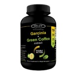 Sinew Nutrition Weight Management Combo 750mg (Garcinia Cambogia and Green Coffee Bean Extract) – 120 Pure Veg Capsules, 100 % Pure & Natural Appetite Suppressant Supplement