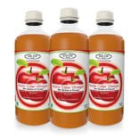 Sinew Nutrition Raw Apple Cider Vinegar with Mother 500ml (Pack of 3) Unfiltered & Unpasteurised