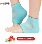 Healthgenie Silicone Gel Heel Pad with Apple Fragrance – 2 Pair (Free Size)