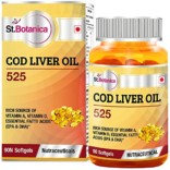 St.Botanica COD Liver Oil 525 – 90 Softgels