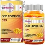 St.Botanica COD Liver Oil 525 – 90 Softgels