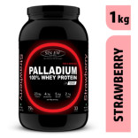 Sinew Nutrition Palladium 100% Whey Protein Concentrate Powder 1 Kg / 2.2 Lbs (33 Servings) strawberry