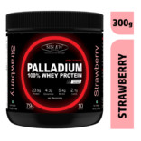 Sinew Nutrition Palladium 100% Whey Protein Concentrate Powder 300gm / 0.66lb – strawberry
