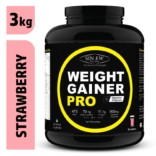 Sinew Nutrition Weight Gainer Pro Strawberry (3kg)