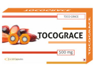 Tocograce Tocotrienol 50% 300mg + Wheat Germ Oil 200mg Capsules