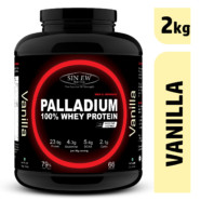 Sinew Nutrition Palladium 100% Whey Protein Concentrate Powder 2 Kg / 4.4 Lbs (66 Servings) Vanilla Flavour