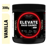 Sinew Nutrition Elevate Mass Gainer, Complex Carb & Proteins in 3:1 ratio with DigiEnzymes, 300gm / 0.66lb – Vanilla Flavour