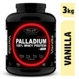 Sinew Nutrition Palladium 100% Whey Protein Concentrate Powder 3 Kg / 6.6 Lbs (100 Servings) Vanilla Flavour