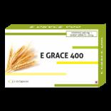 E- Grace Vitamin E 400mg + Wheat Germ Oil 10mg Capsules
