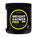 Sinew Nutrition Weight Gainer Pro with Digestive Enzymes, Strawberry, 300 Gm