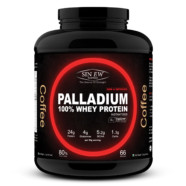 Sinew Nutrition Palladium 100% Whey Protein Concentrate Powder 2 Kg / 4.4 Lbs (66 Servings) Coffee Flavour