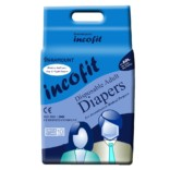 Incofit Premium Adult Diapers-Extra Large, Pack of 10