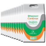 Paramount Comfymax Premium Adult Diaper, Extra Large – Pack of 120, (127cm-170cm | 50″-67″)