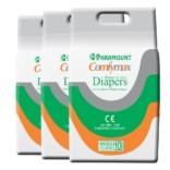 Paramount Comfymax Premium Adult Diaper, Extra Large – Pack of 30, (127cm-170cm   50″-67″)